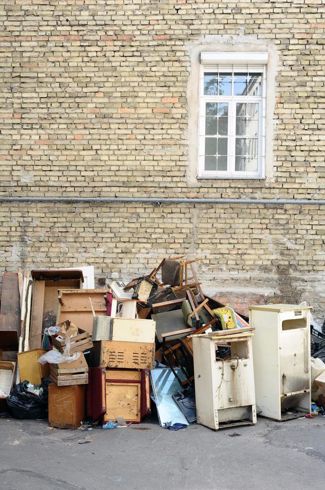 repurposing furniture from trash