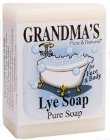 Grandma's Lye Soap - Grandma's Pure and Natural soaps