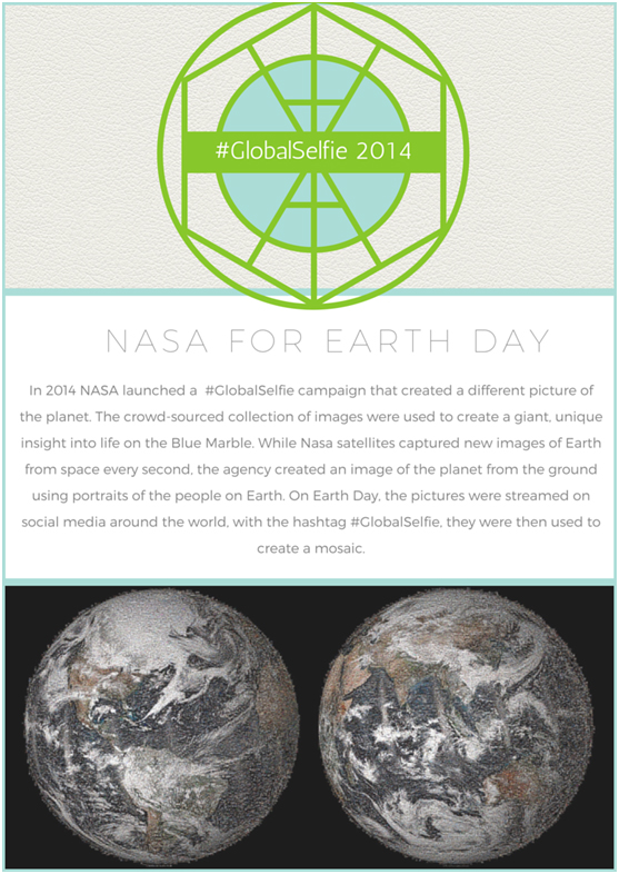Earth Day #GlobalSelfie