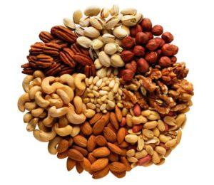 nuts - muscle - vegetarian diet