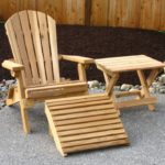 Wooden-patio-furniture-rustic-style