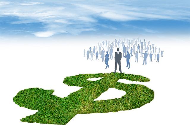 business - going green