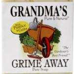 Grandma's Grime Away - Grandma's Pure and Natural soaps