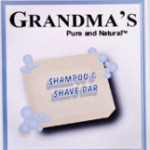 Grandma's Shampoo Shave Bar - Grandma's Pure and Natural soaps