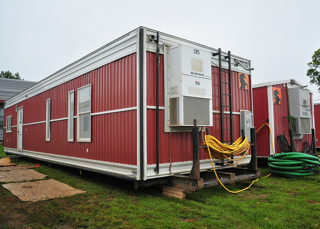 Disaster Relief Image by zendt66 from Flickr Creative Commons - shipping container