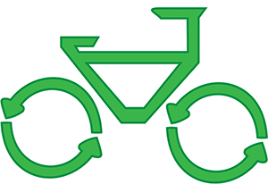 bicycles can save the environment