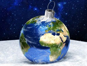 earth-ornament- gobble up the green this holiday season