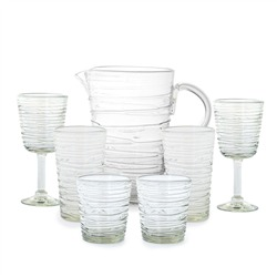 recycling glassware