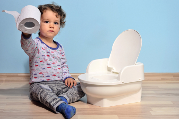 baby toilet - learn about poop pollution