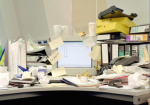 declutter and keep your office clean