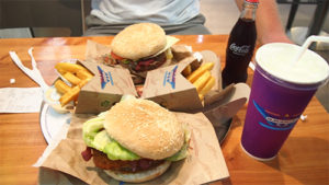 destroying our bodies - too much fast food