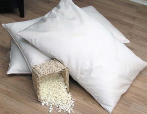 eco-friendly bedroom - organic pillow