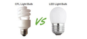 LED bulbs vs CFL bulbs