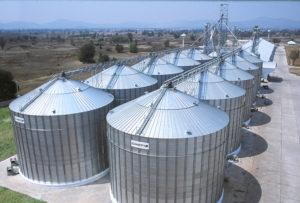 storage of grains