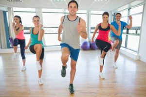 exercise is also good for stress relief