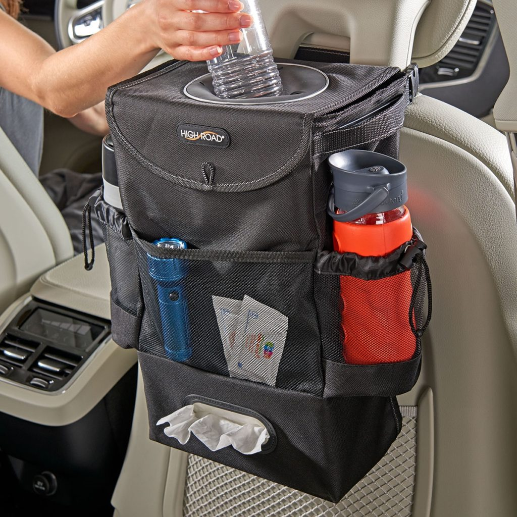 car seat organizer for road trips