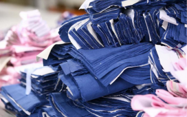clothing going into landfills
